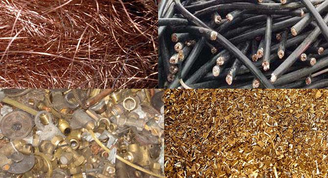 废黄铜与废紫铜的区别及价格